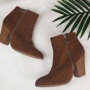 🆕️ Shoe Dazzle Vasha camel boots 9.5
